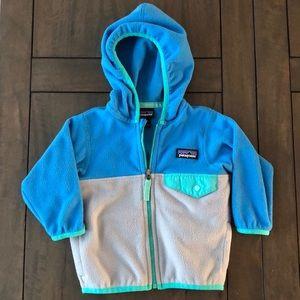 Patagonia 3-6 month infant zip-up fleece